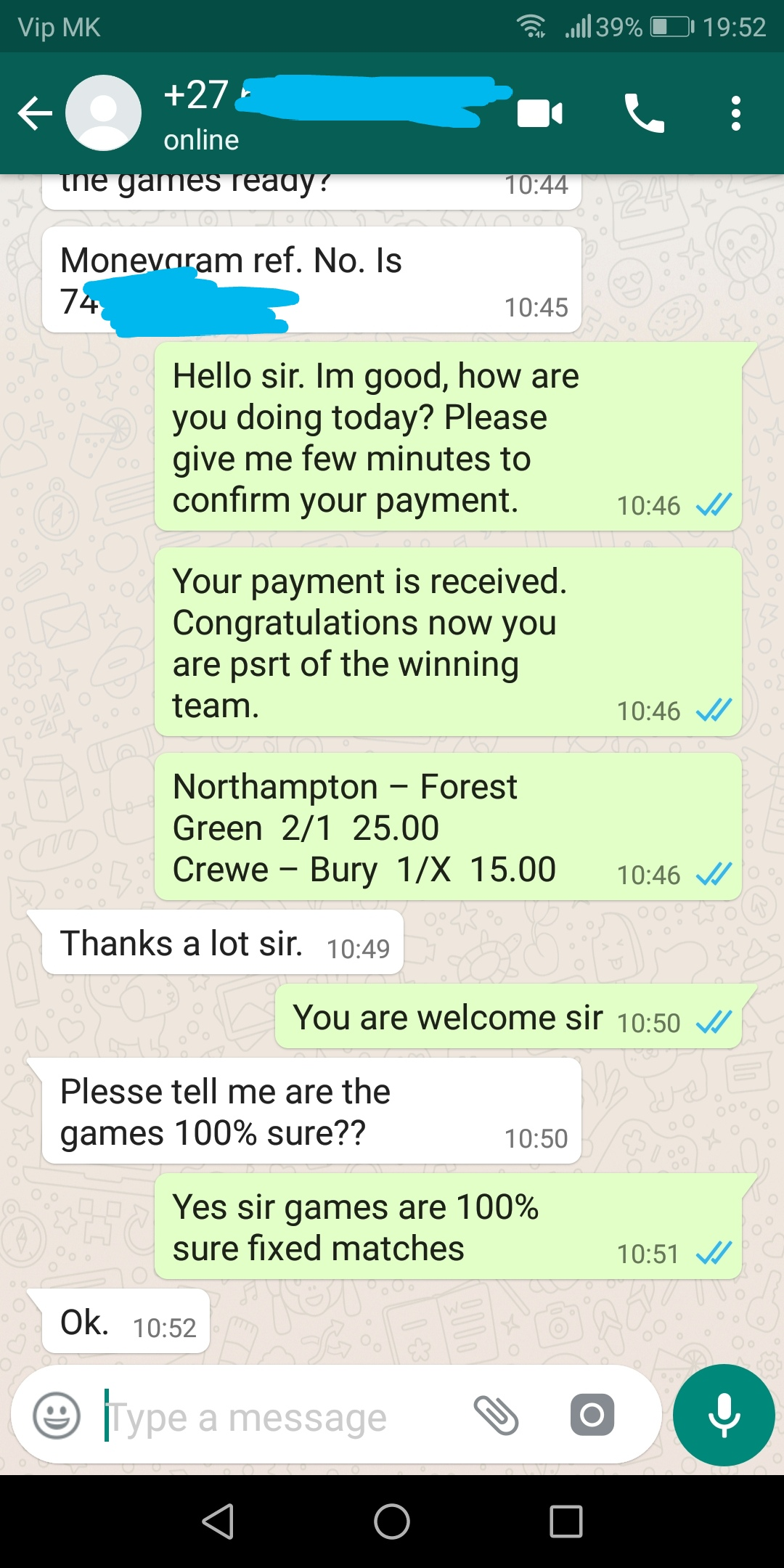 ht ft whatsapp 13 10 2018
